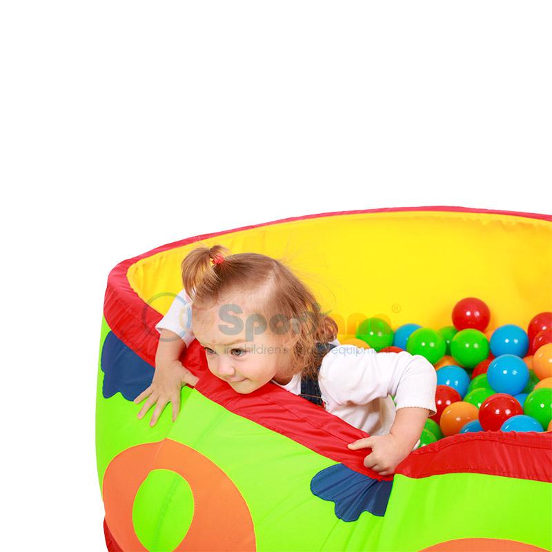 Как сделать сухой бассейн  для детей 117
